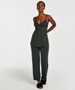Conjunto de pijama Vera Lace, Verde