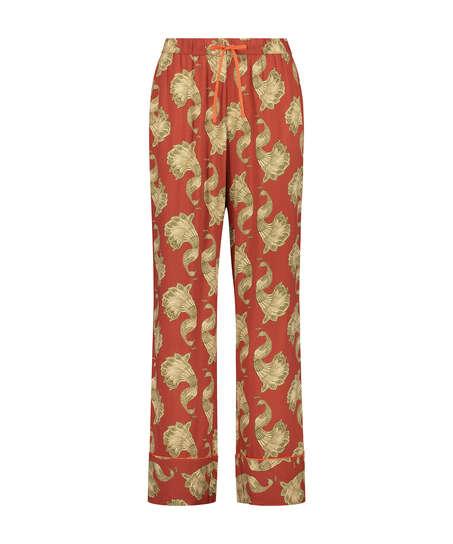 Pantalón de pijama tejido, Rosa