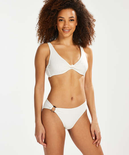 Top de bikini Emily, Blanco