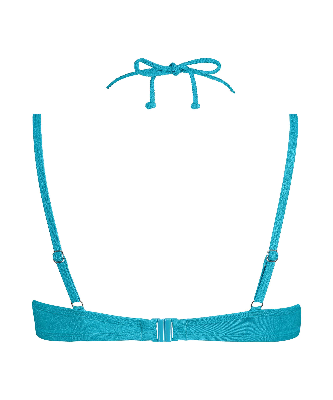 Top de bikini con aros preformado Celine, Azul, main