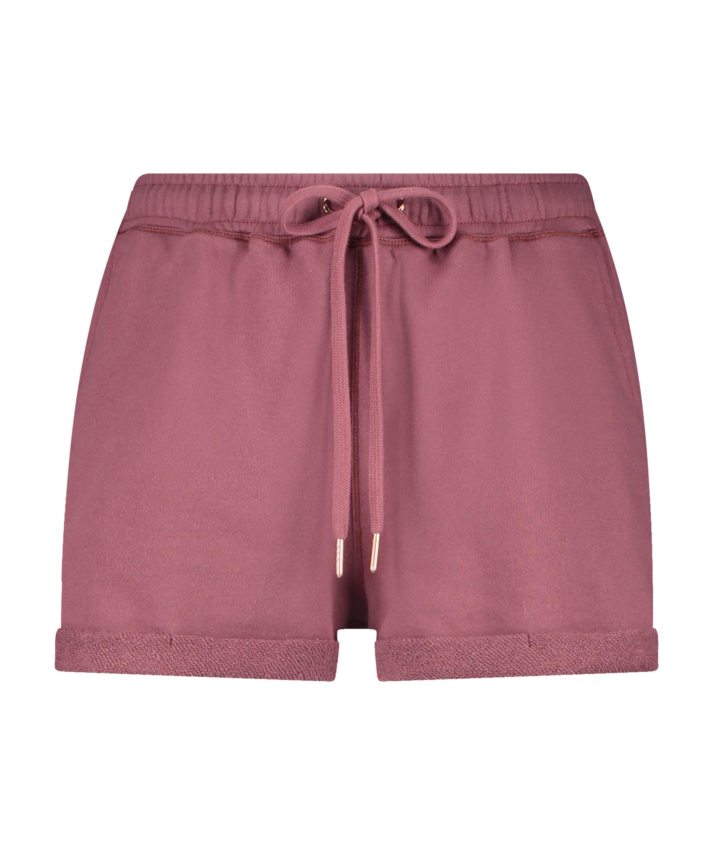 Shorts Sweat French, Rosa, main