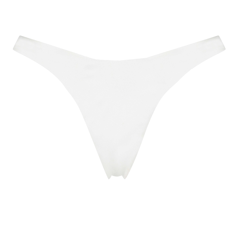 Braguita de bikini de corte alto Lola, Blanco, main