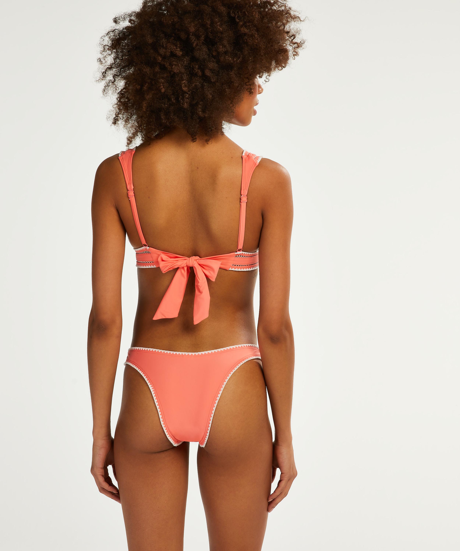Braguita brasileña de bikini de tiro alto Maya, Rosa, main