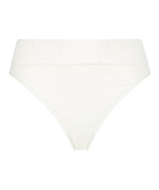 Braguita de bikini alta Libby, Blanco