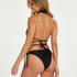 Braguita de bikini brasileña Lais, Negro