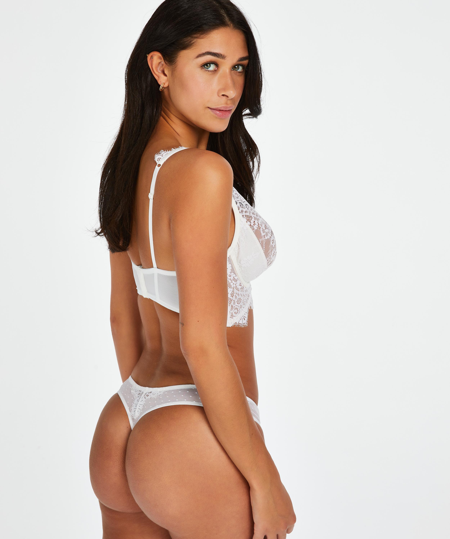 Tanga Marilee, Blanco, main