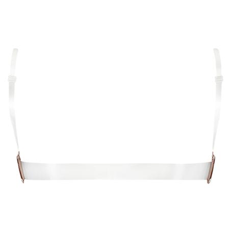 Sujetador push-up de aros preformado Transparent Back, Beige