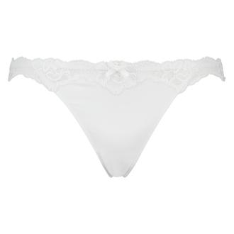 Tanga Secret Lace, Blanco