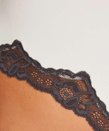 Bóxer Secret lace, Blanco