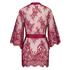 Kimono de encaje Isabelle, Rojo