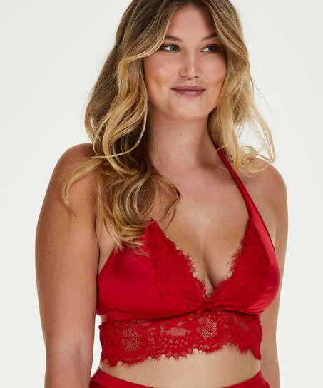 Bralette Perla, Rojo