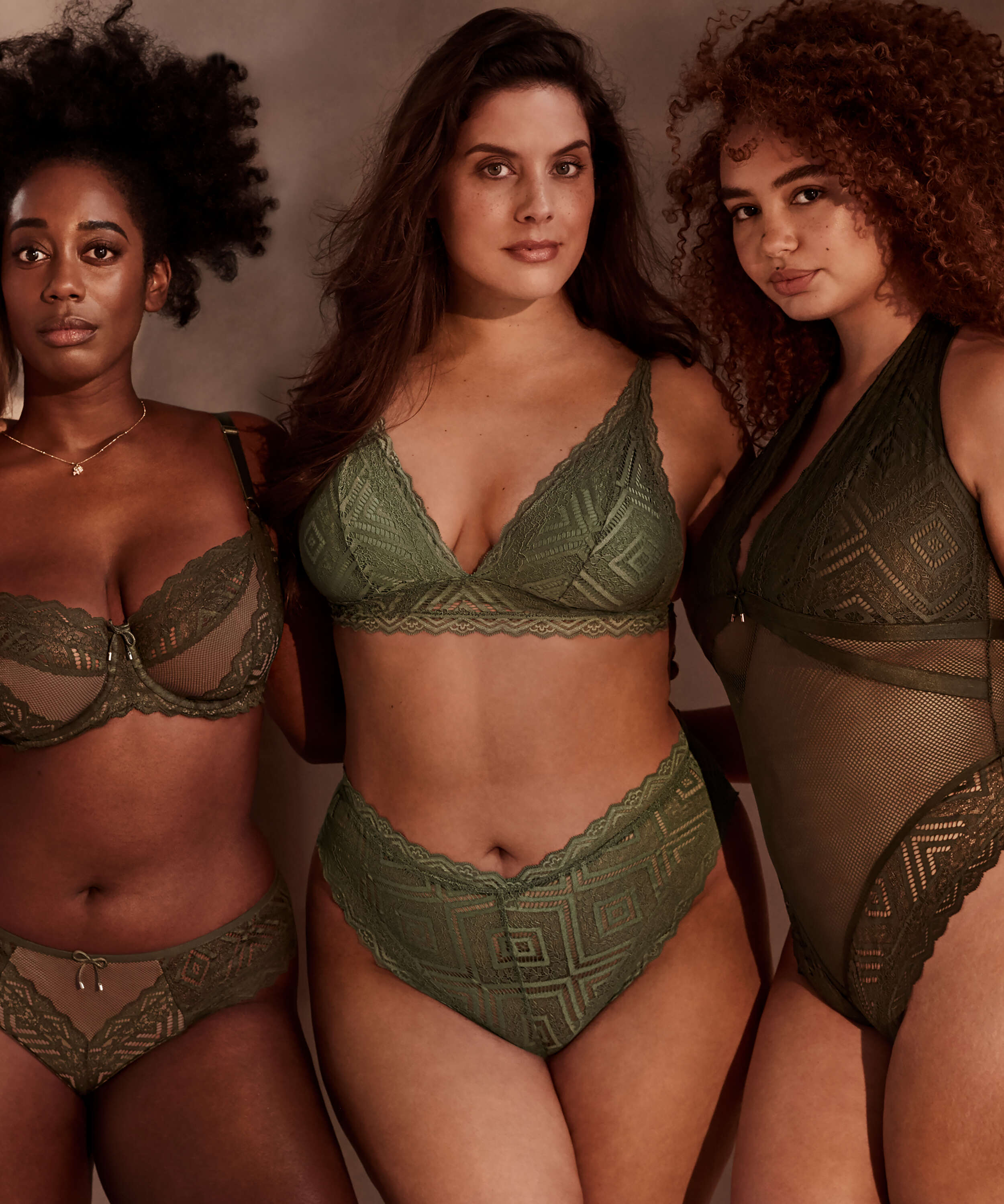 Brasileña de corte alto Filomena I AM Danielle, Verde, main