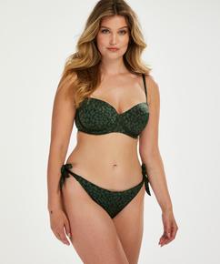 Braguita de bikini brasileña Tonal Leo, Verde