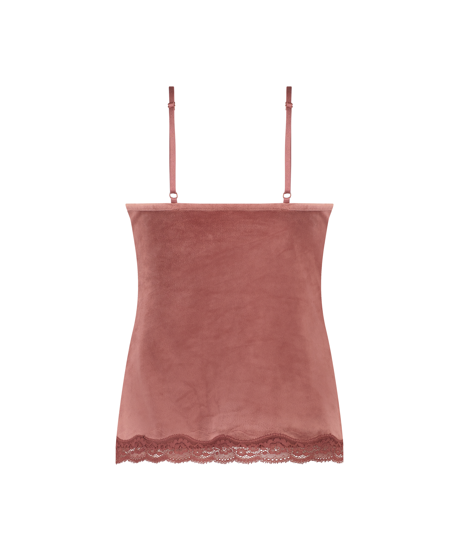 Camiseta Velours Lace, Rosa, main