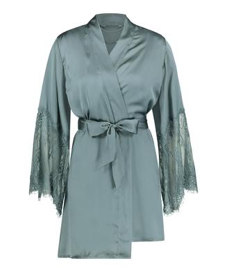 Kimono Satin, Verde