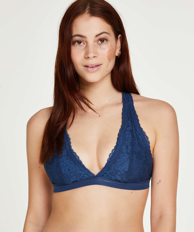Bralette Alexis, Azul, main