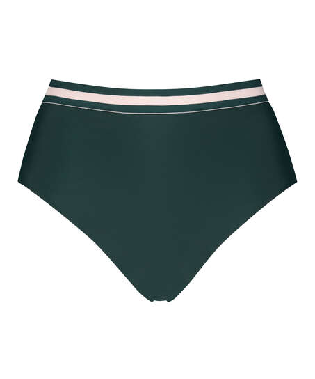 Braguita de bikini de corte alto atrevido Pinewood, Verde