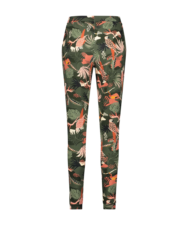 Petite pantalón de pijama Jersey, Verde, main