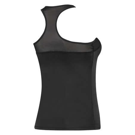 Camiseta sin mangas HKMX, Negro