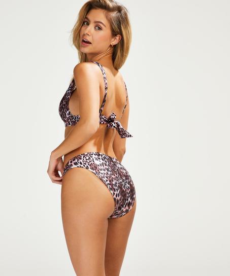 Braguita de bikini rio Leopard, Negro