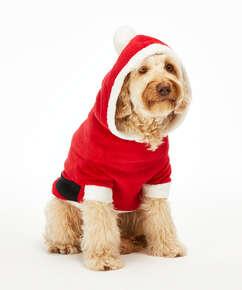 Mono forro polar para perro, Rojo