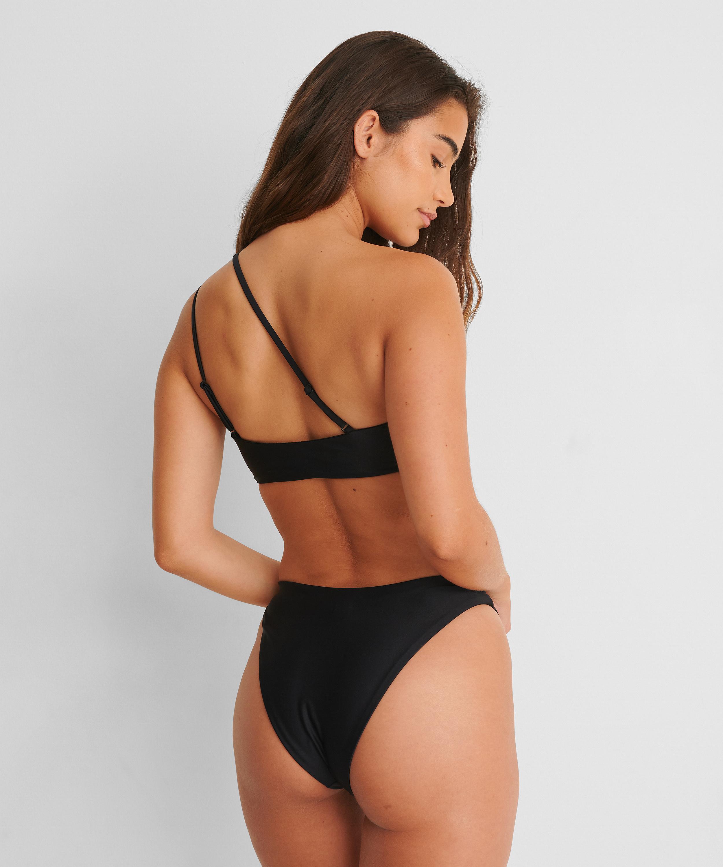 Braguita de bikini de tiro alto Rio HKM x NA-KD, Negro, main