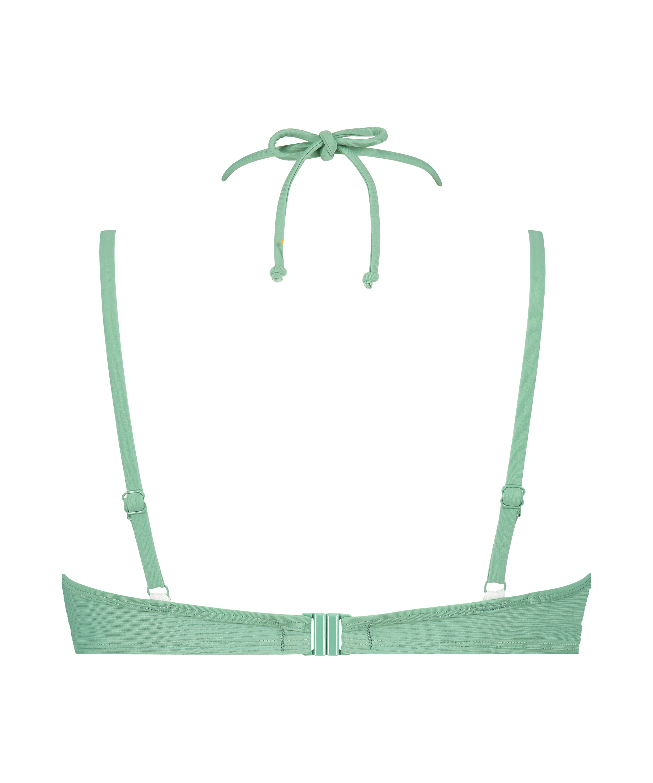 Top de bikini con aros preformado Sienna, Verde, main