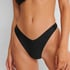 Braguita de bikini de tiro alto Rio HKM x NA-KD, Negro