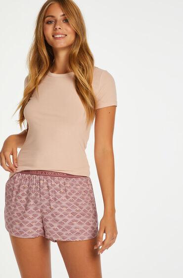Hunkemöller Pantalón de pijama Rosa
