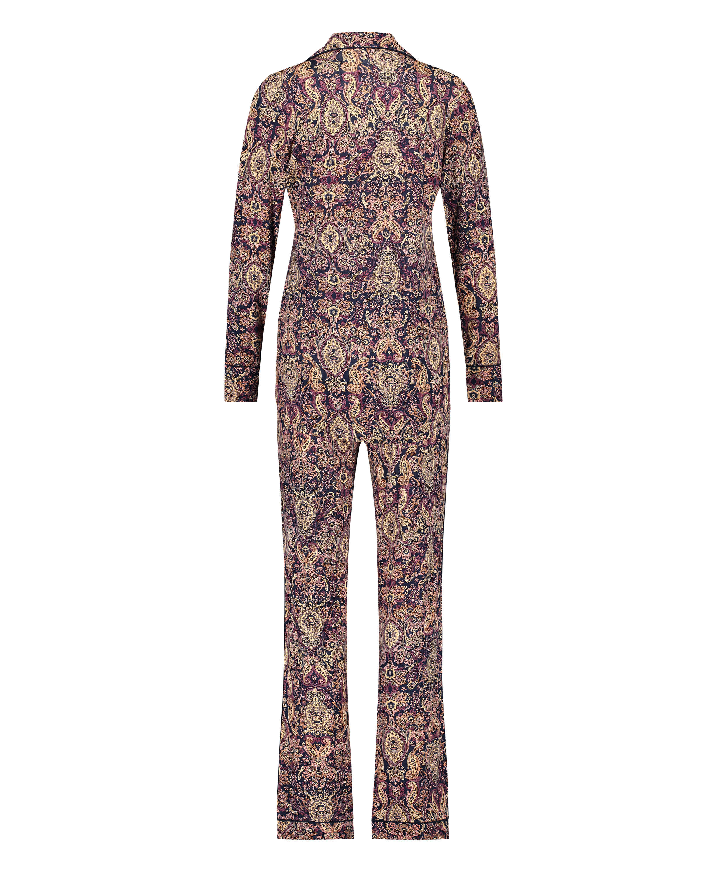 Conjunto de pijama Paisley, Azul, main