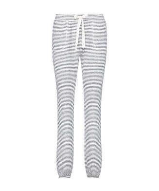 Pantalón de pijama de Rayas, Azul