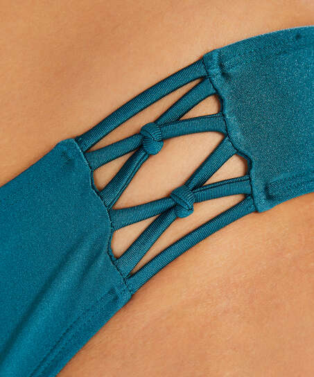 Rio Braguita de bikini Macrame Brokopondo I AM Danielle, Gris