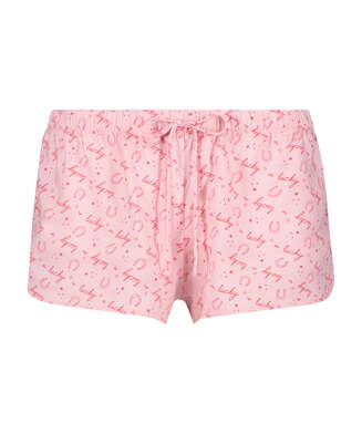 Pantalón de pijama corto Lucky, Beige