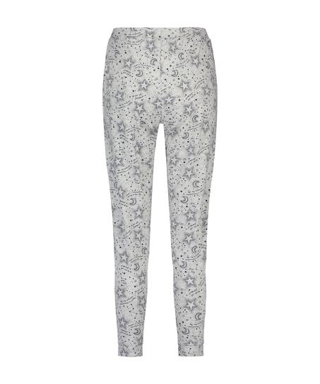Pantalón de pijama de punto, Gris