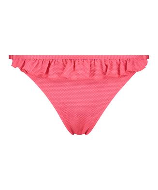 Braguita tanga de bikini Ruffle Dreams, Rosa