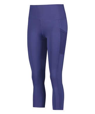 HKMX Capri de cintura alta Oh My Squat, Azul