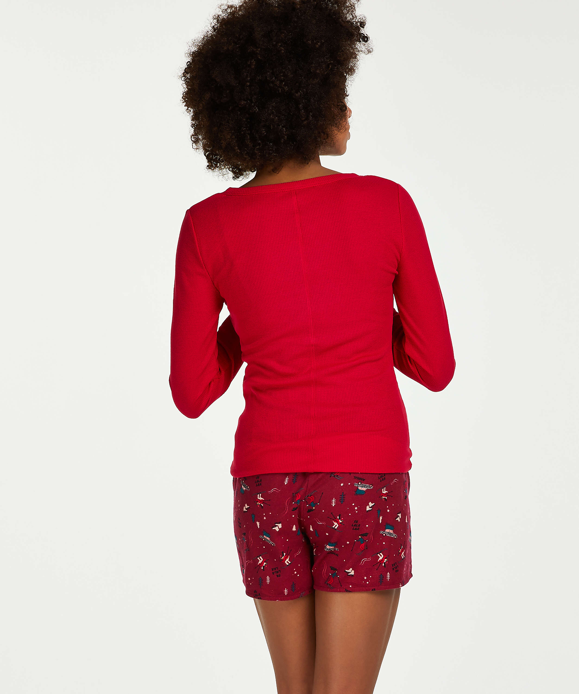 Short Twill, Rojo, main