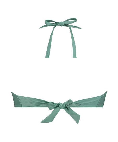 Top de bikini de aros push-up preformado SoCal, Verde