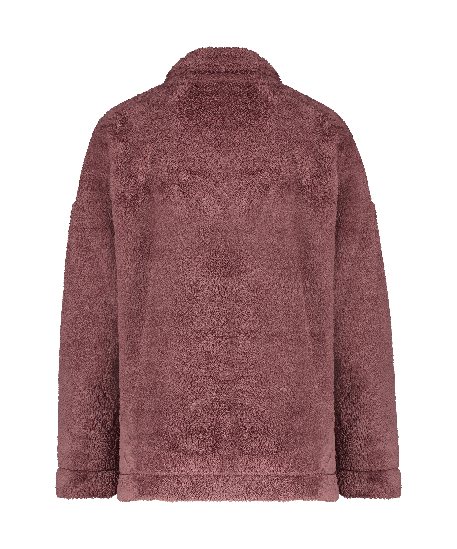 Cárdigan Snuggle Fleece, Rosa, main