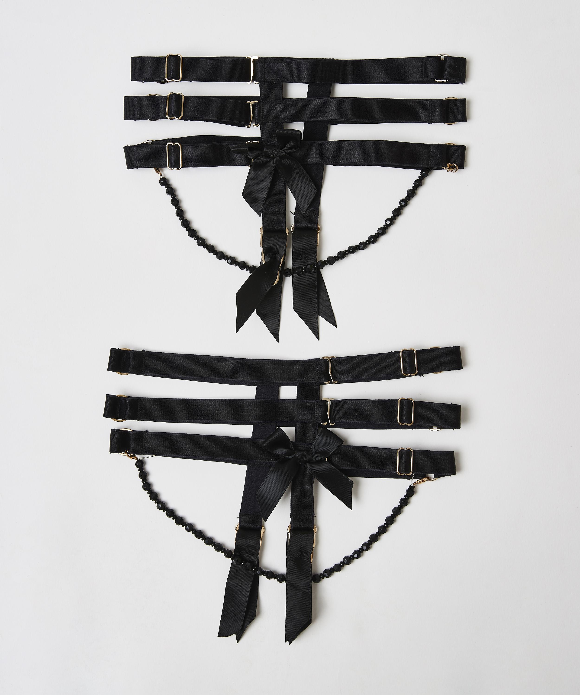 Liguero Private Cuffs, Negro, main
