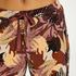 Pantalón de pijama Petite Abstract Leaf, Rosa
