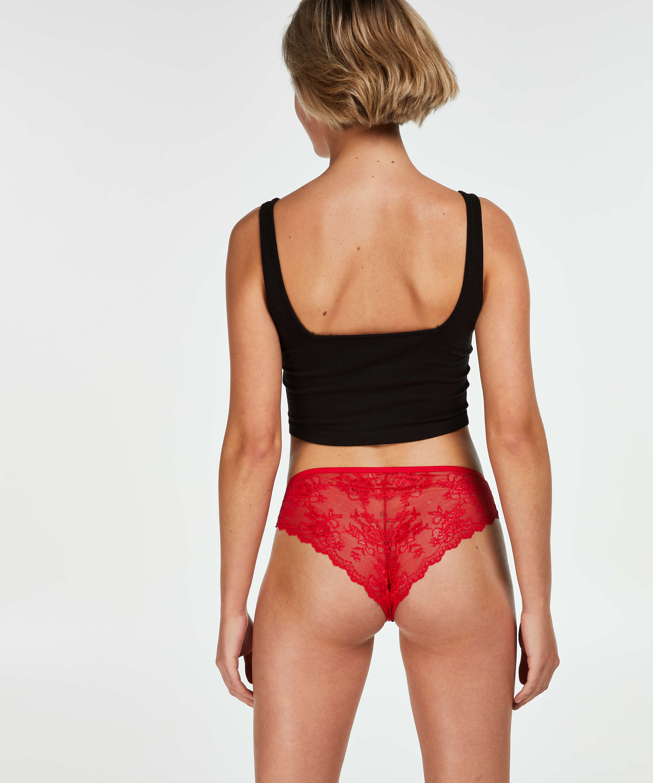 Brasileña Invisible Lace Back, Rojo, main