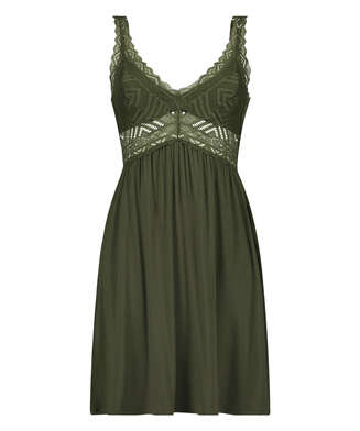 Vestido lencero Nora Lace Reinier I AM Danielle, Verde
