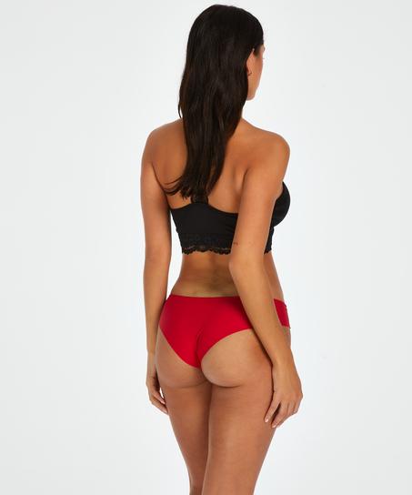 Brasileña invisible Cotton, Rojo