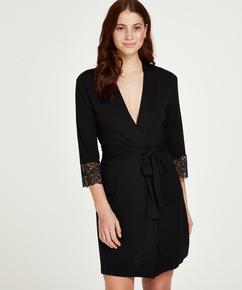 Kimono Vera Lace, Negro