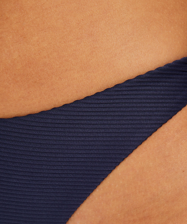 Braguita brasileña de bikini de tiro alto Harper, Azul, main