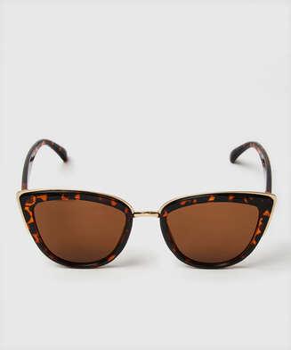Gafas de sol Ojo de Gato, marrón