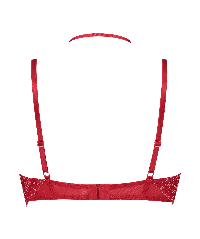 Sujetador longline de aros preformado Coco, Rojo, main