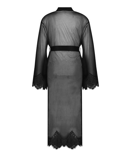 Kimono Long Cravache, Negro