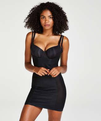 Vestido scuba moldeador - Level 3, Negro